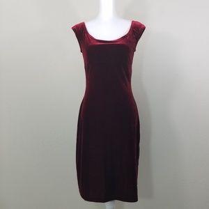 Guess Velvet Dress Size M